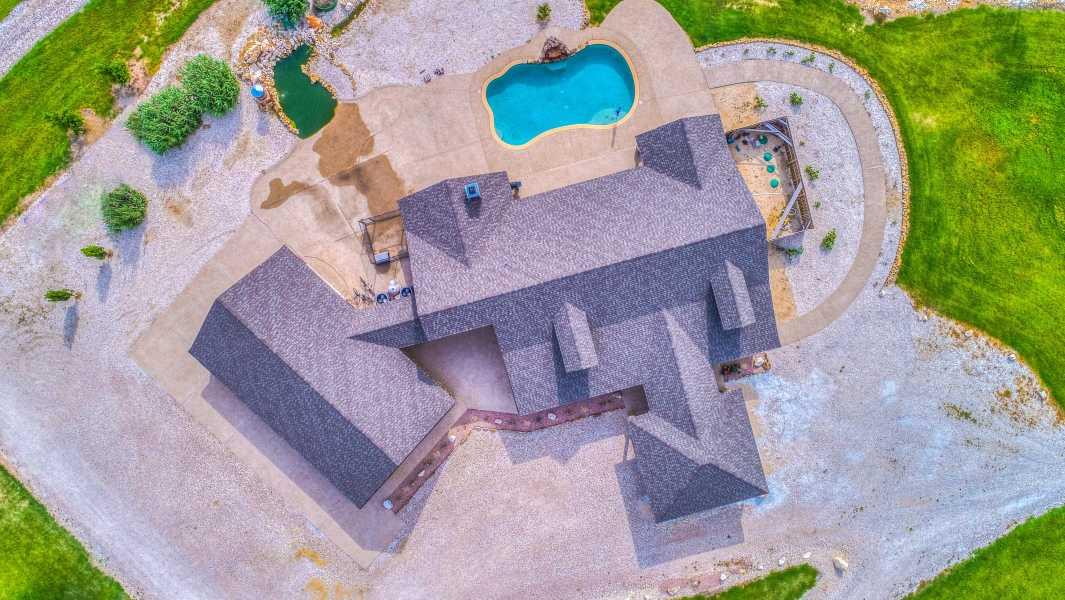 Drone Photo Hubbard TX