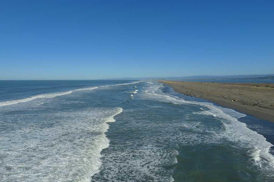 Drone Photo Humboldt Bay Ca