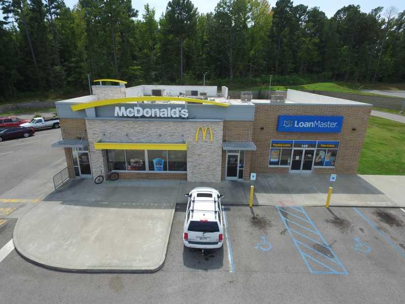 Drone Photo Huntingdon TN