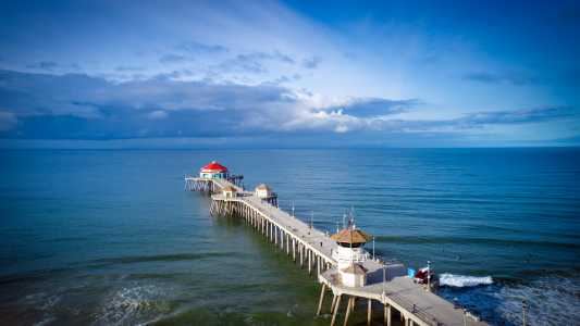 Drone Photo Huntington Beach CA