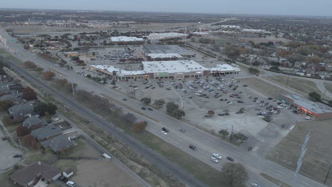 Drone Photo Hurst TX