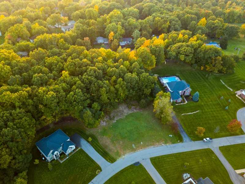 Drone Photo Independence Charter Township MI