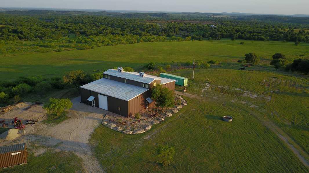 Drone Photo Jacksboro TX