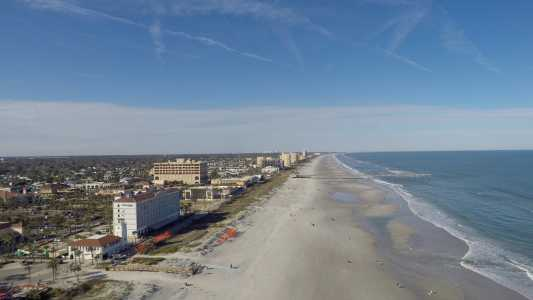 Drone Photo Jacksonville Beach FL