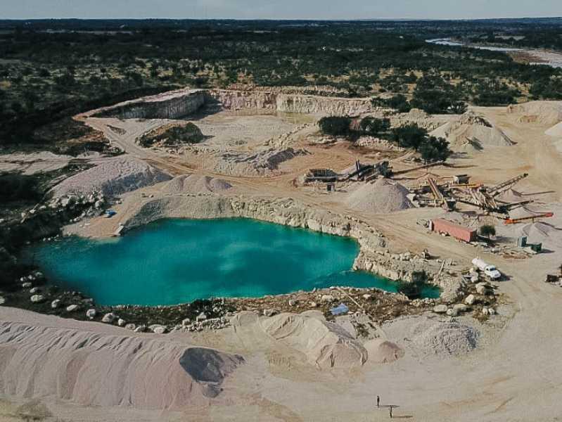 Drone Photo Johnson City TX