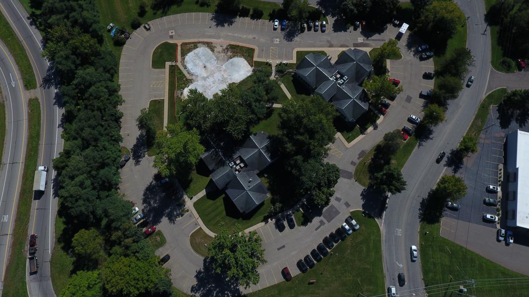 Drone Photo Kalamazoo MI