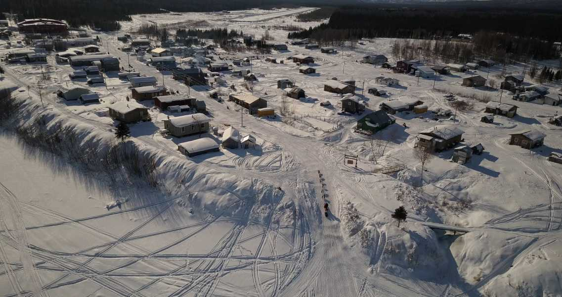Drone Photo Kaltag AK