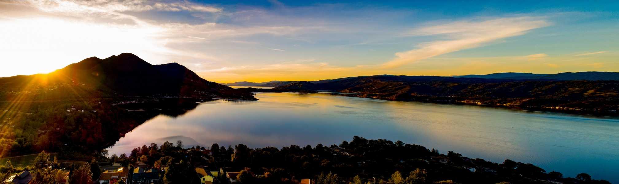 Drone Photo Kelseyville CA