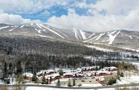 Drone Photo Killington VT