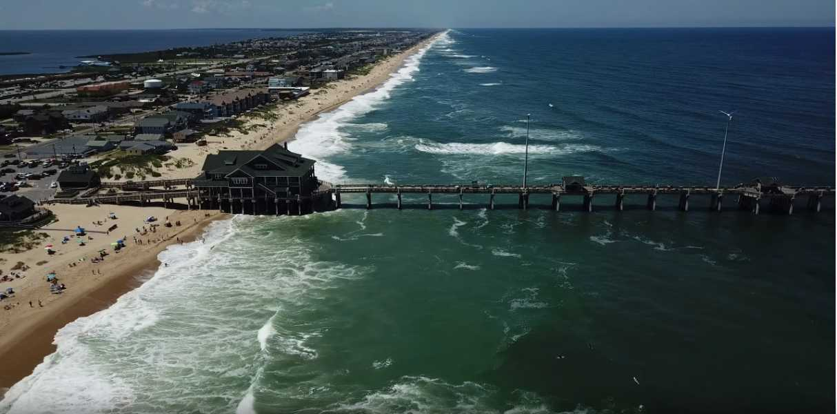 Drone Photo Kitty Hawk NC