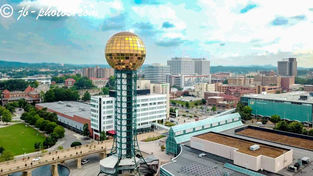 Drone Photo Knoxville TN