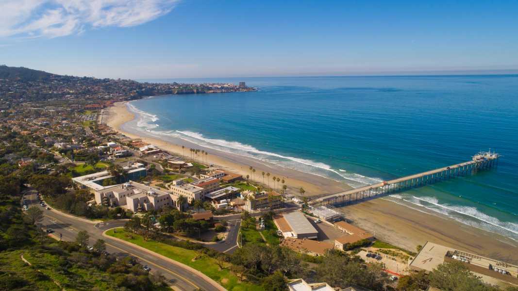 Drone Photo La Jolla Cove Ca