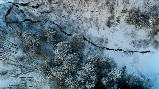 Drone Photo La Valle WI