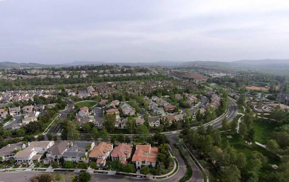 Drone Photo Ladera Ranch CA