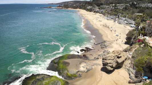 Drone Photo Laguna Beach CA