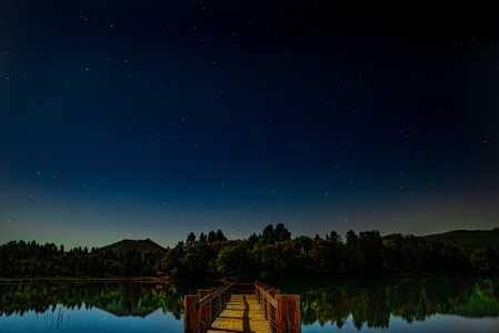 Drone Photo Lake Cuyamaca Ca