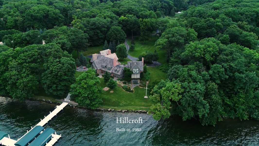 Drone Photo Lake Geneva WI