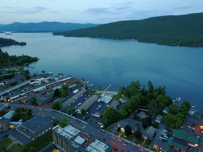 Drone Photo Lake George NY