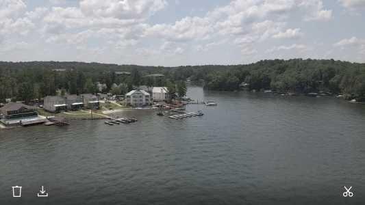 Drone Photo Lake Martin Al