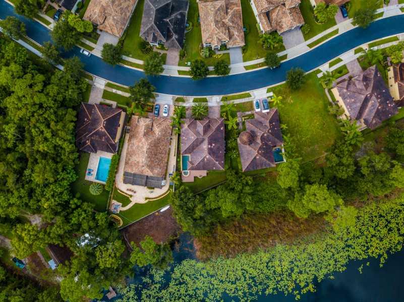 Drone Photo Lake Mary FL