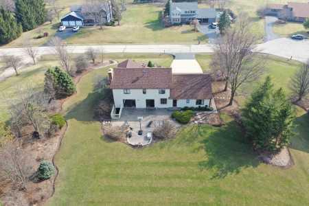 Drone Photo Lake Villa IL
