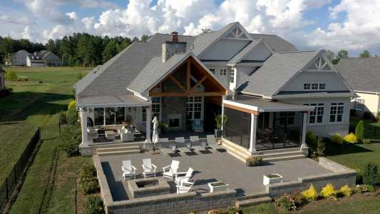 Drone Photo Lake Wylie SC