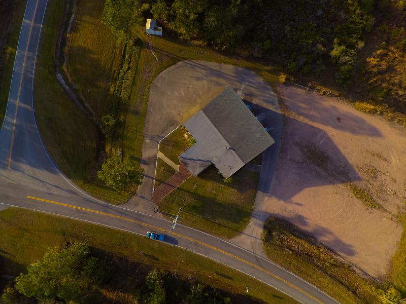 Drone Photo Lakeshore FL