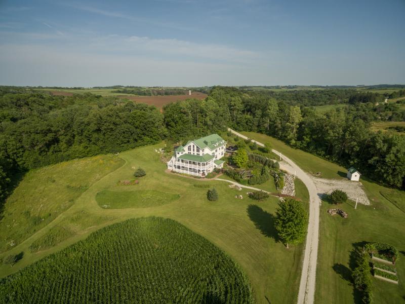 Drone Photo Lanesboro MN