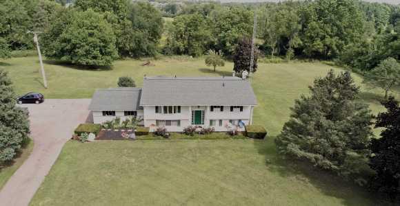Drone Photo Lapeer Township MI