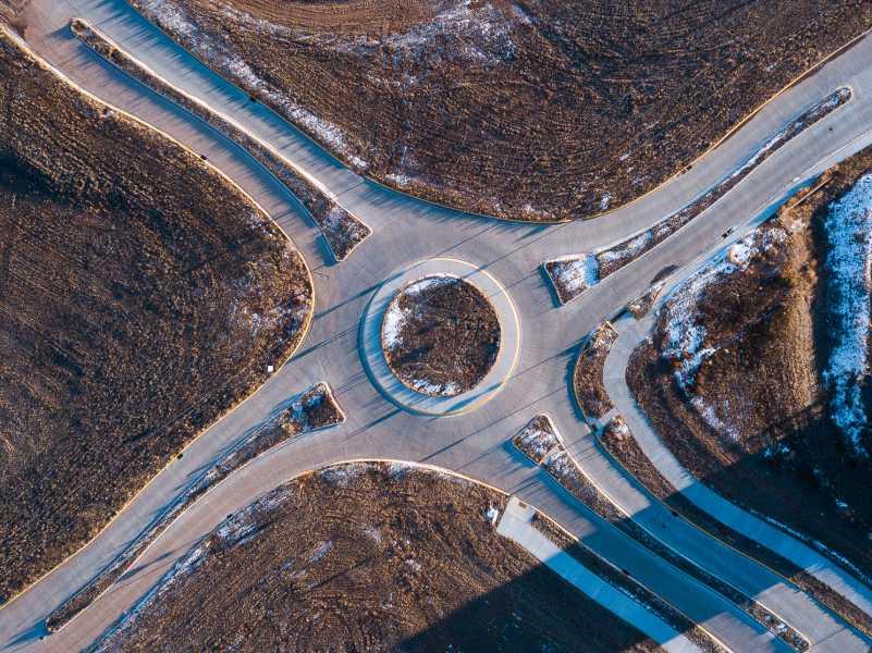 Drone Photo Laramie WY