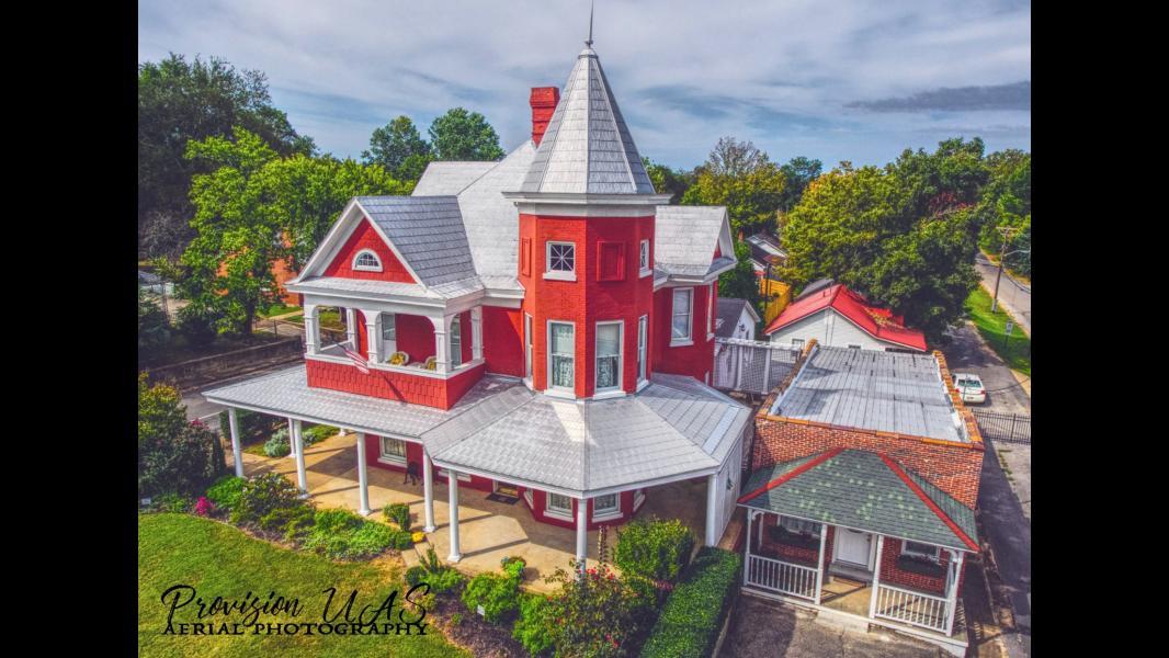 Drone Photo Lawrenceburg TN