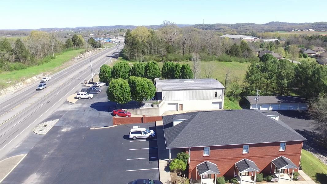 Drone Photo Lawrenceburg TN