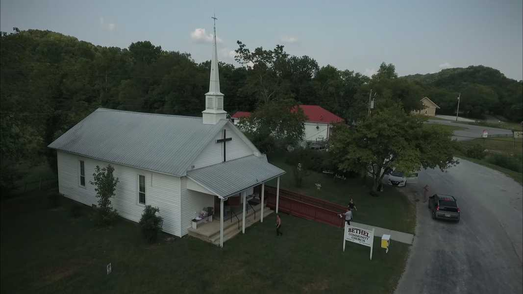 Drone Photo Leipers Fork TN