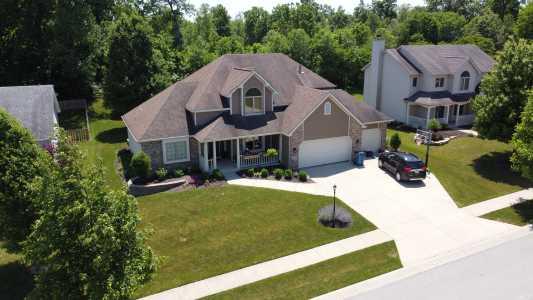 Drone Photo Leo-Cedarville IN