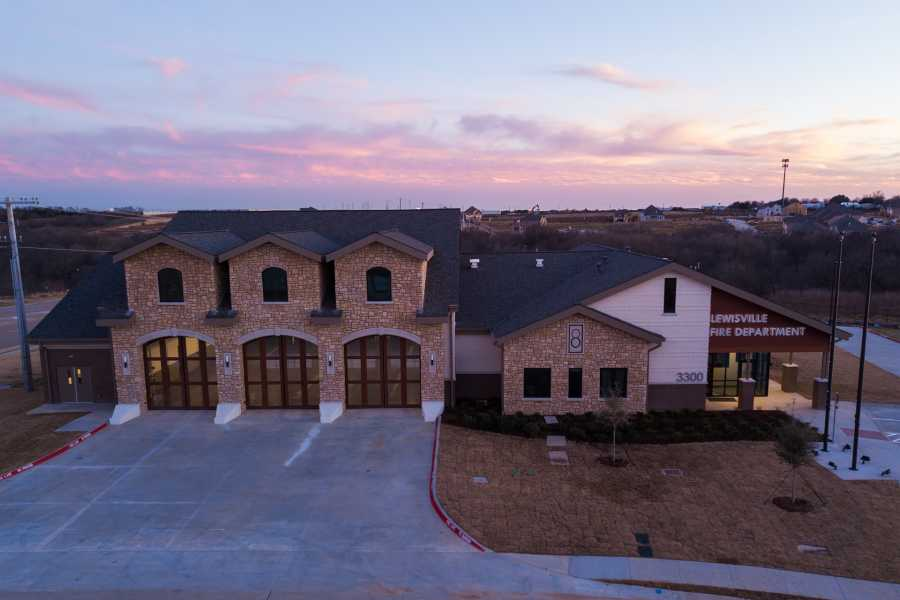Drone Photo Lewisville TX