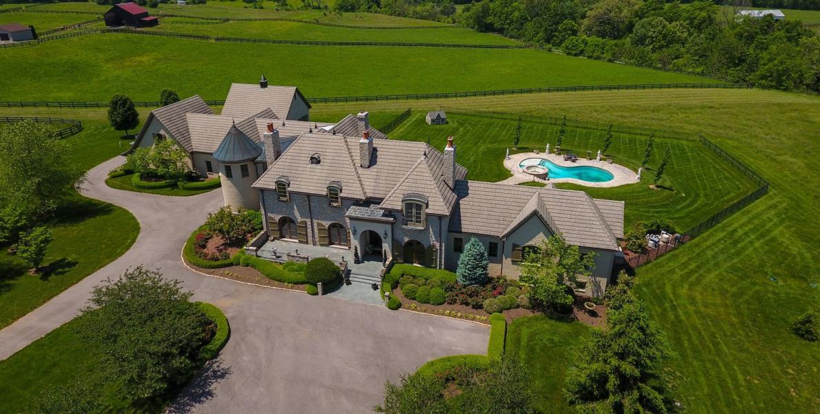 Drone Photo Lexington KY