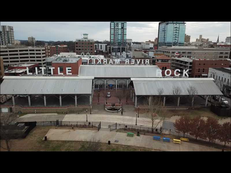 Drone Photo Little Rock AR