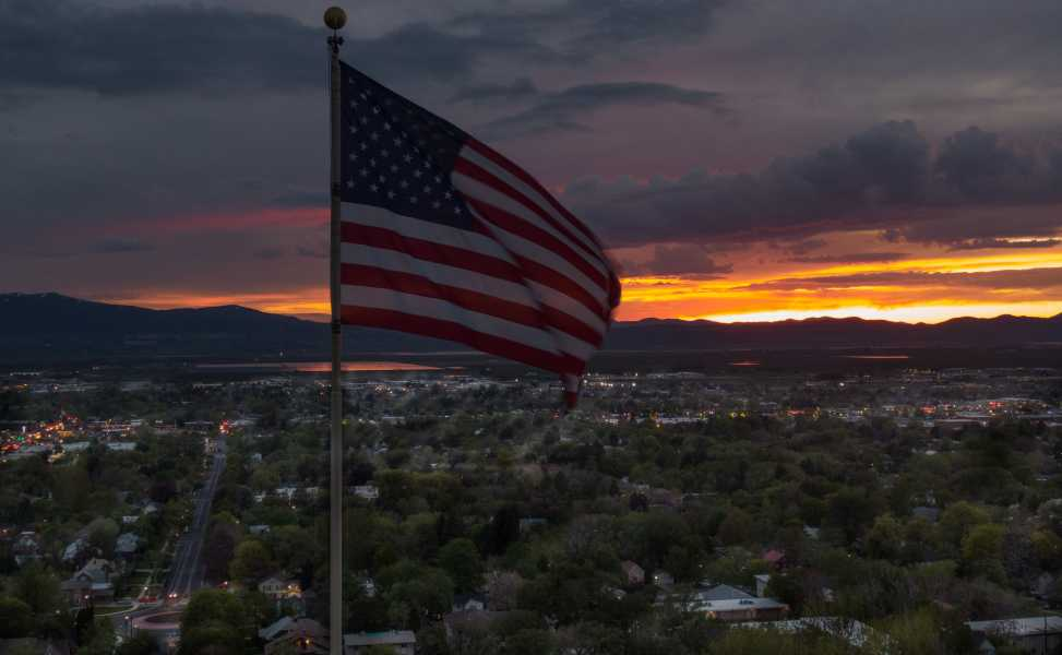 Drone Photo Logan UT