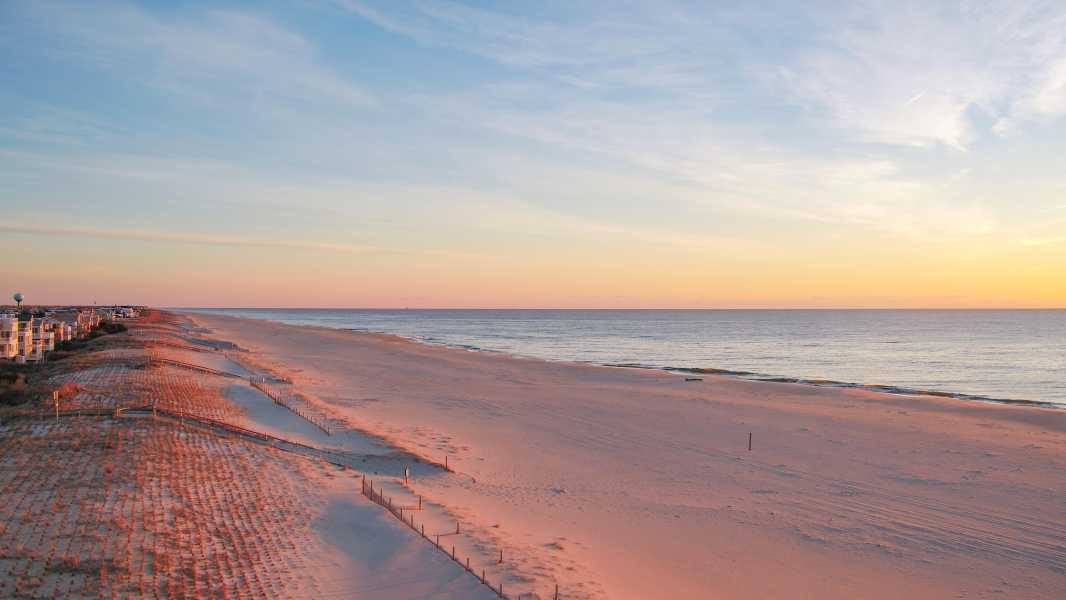 Drone Photo Long Beach Island Ne