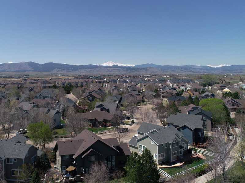 Drone Photo Longmont CO
