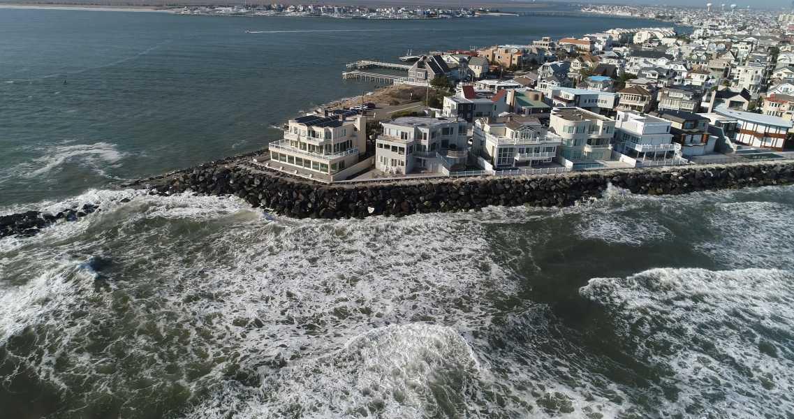 Drone Photo Longport NJ