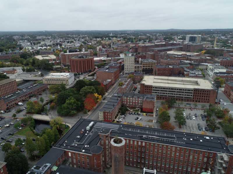 Drone Photo Lowell MA