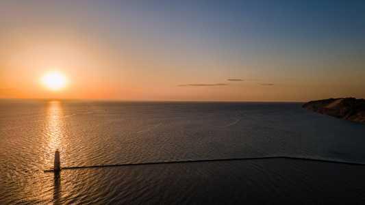 Drone Photo Ludington MI