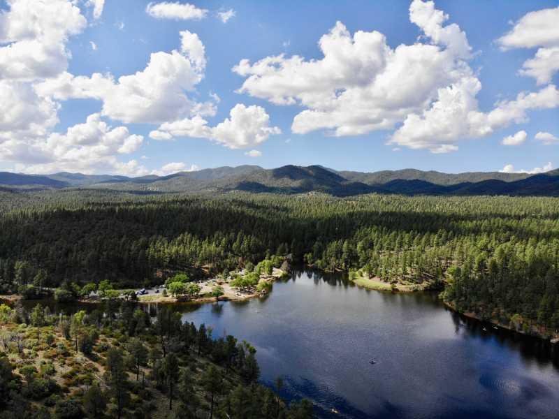 Drone Photo Lynx Lake Ar