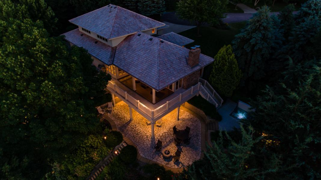 Drone Photo Madison Lake MN