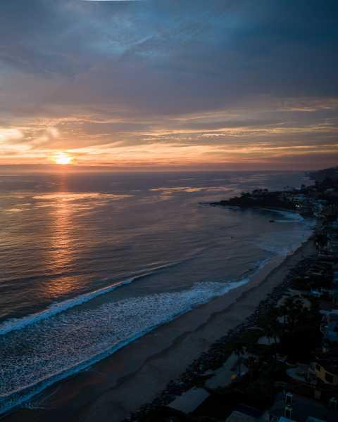 Drone Photo Malibu CA