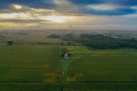 Drone Photo Manalapan Township NJ