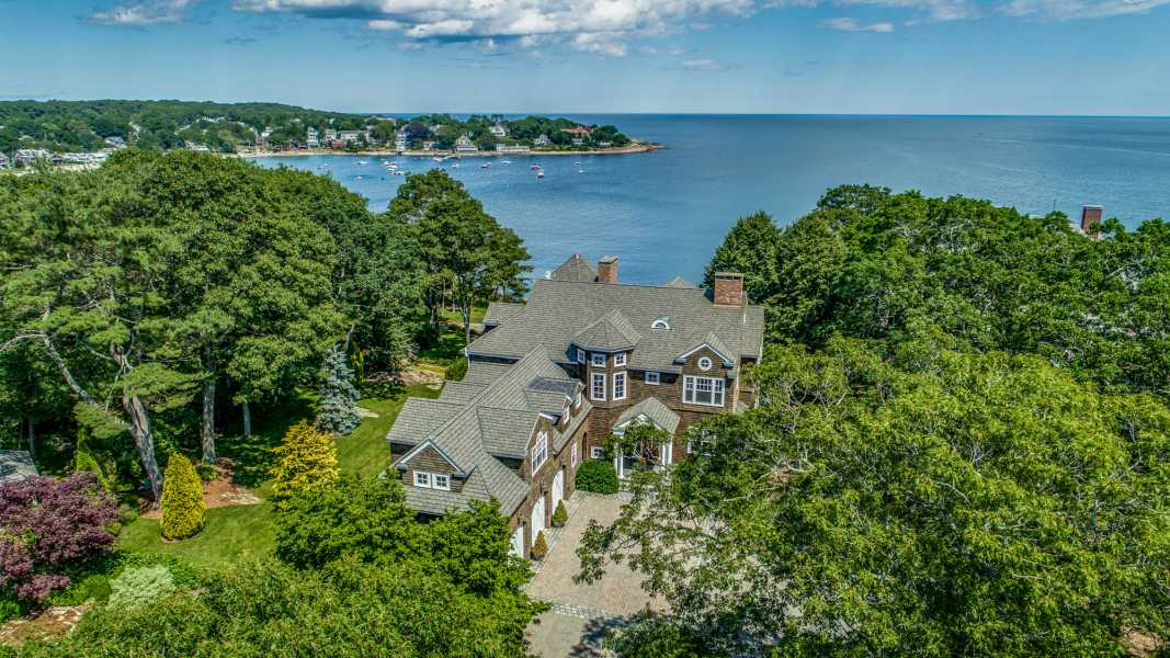 Drone Photo Manchester-by-the-Sea MA