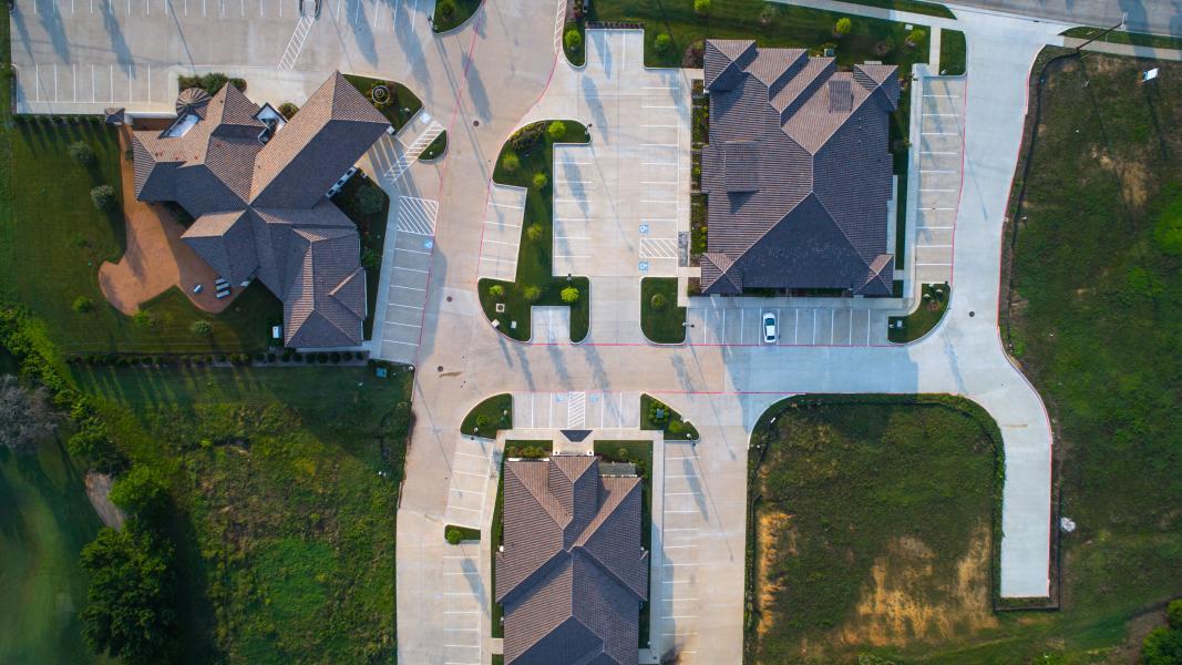 Drone Photo Mansfield TX