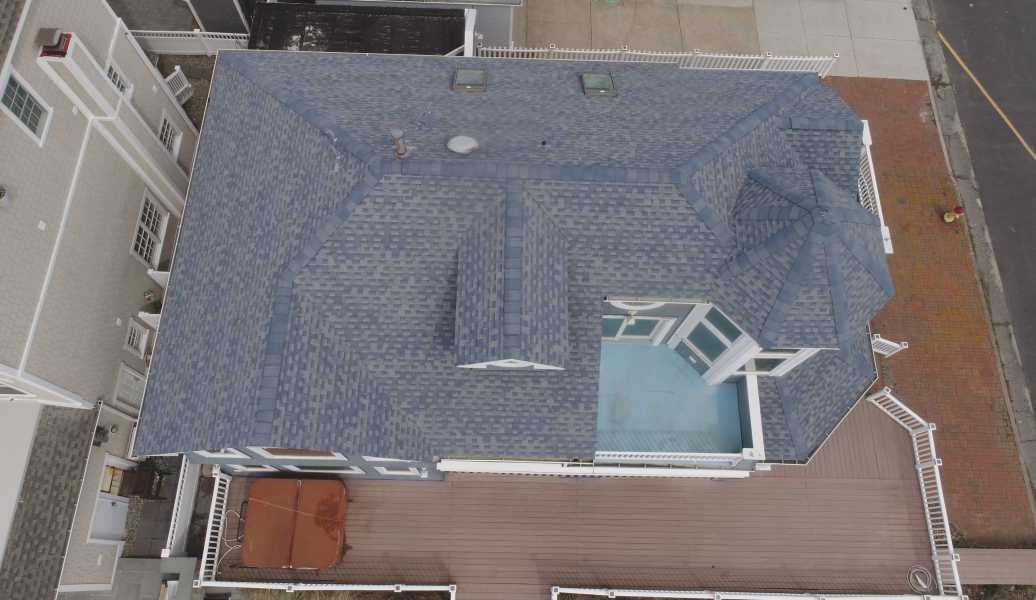 Drone Photo Margate City NJ